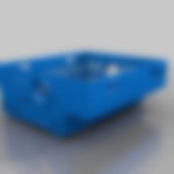 Prusa_Rambo_box_top.stl Download free STL file Original Prusa MK2-MK3 enclosure box • 3D printing design, Lammesky