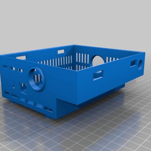 bf16437348c6a73ce21eb6c724810472.png Download free STL file Original Prusa MK2-MK3 enclosure box • 3D printing design, Lammesky