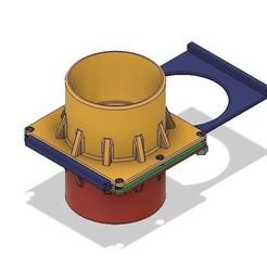 CAD 1 Airgate valve.jpg Download STL file Air-Gate Valve - CAD parametric  • 3D printable template, Lammesky