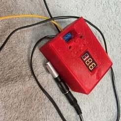 IMG_4496.jpg Download free STL file step-up DC Volt-booster 150w case for my Mackbook pro • 3D printable model, Lammesky