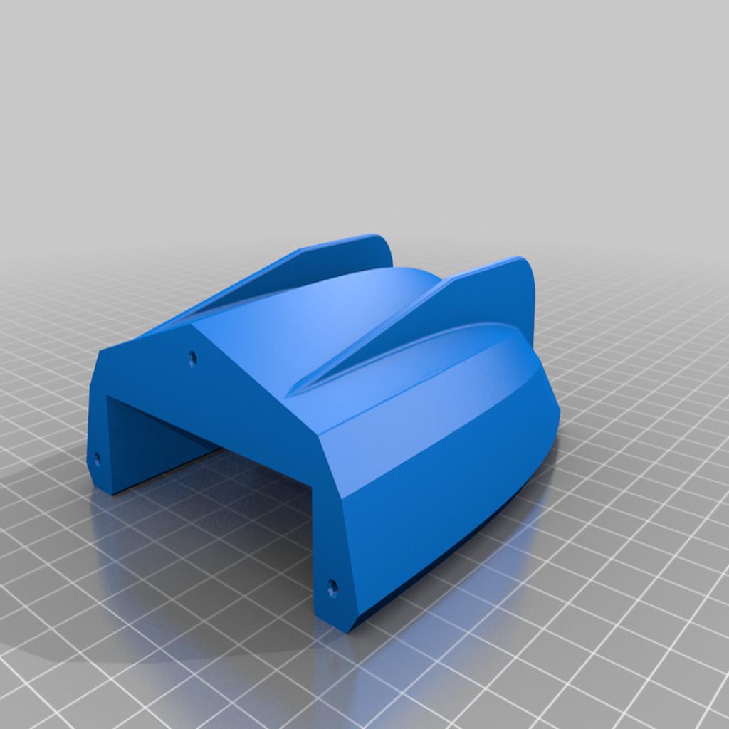 Rumpf_Back.png Télécharger fichier STL gratuit Bateau de bain à enrouleur V5 MOD - Une coque en deux temps • Plan pour impression 3D, Bengineer3D