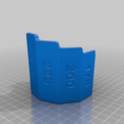Download free STL file Bonne Maman measuring sleeve • Object to 3D print, Bengineer3D