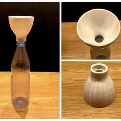 IMG_0669.JPG Télécharger fichier STL gratuit Entonnoir pour bouteille de soda (à visser) • Design à imprimer en 3D, Bengineer3D