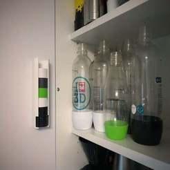 Download free 3D printing templates SodaStream Cap Dispenser, Bengineer3D