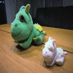 IMG_0516.JPG Télécharger fichier STL gratuit Le petit dragon • Modèle imprimable en 3D, Bengineer3D