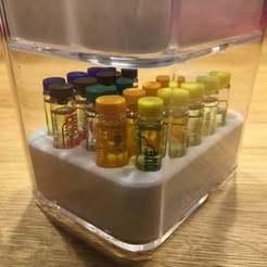 IMG_1825.JPG Télécharger fichier STL gratuit IKEA Godmorgon - Insertion d'une viole aromatique • Plan pour impression 3D, Bengineer3D
