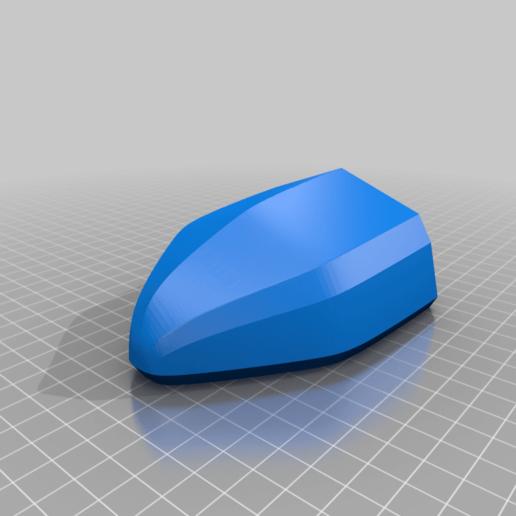 Rumpf_Front.png Télécharger fichier STL gratuit Bateau de bain à enrouleur V5 MOD - Une coque en deux temps • Plan pour impression 3D, Bengineer3D