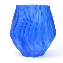 Free 3D printer files Gosper Fractal Vase, Revalia6D