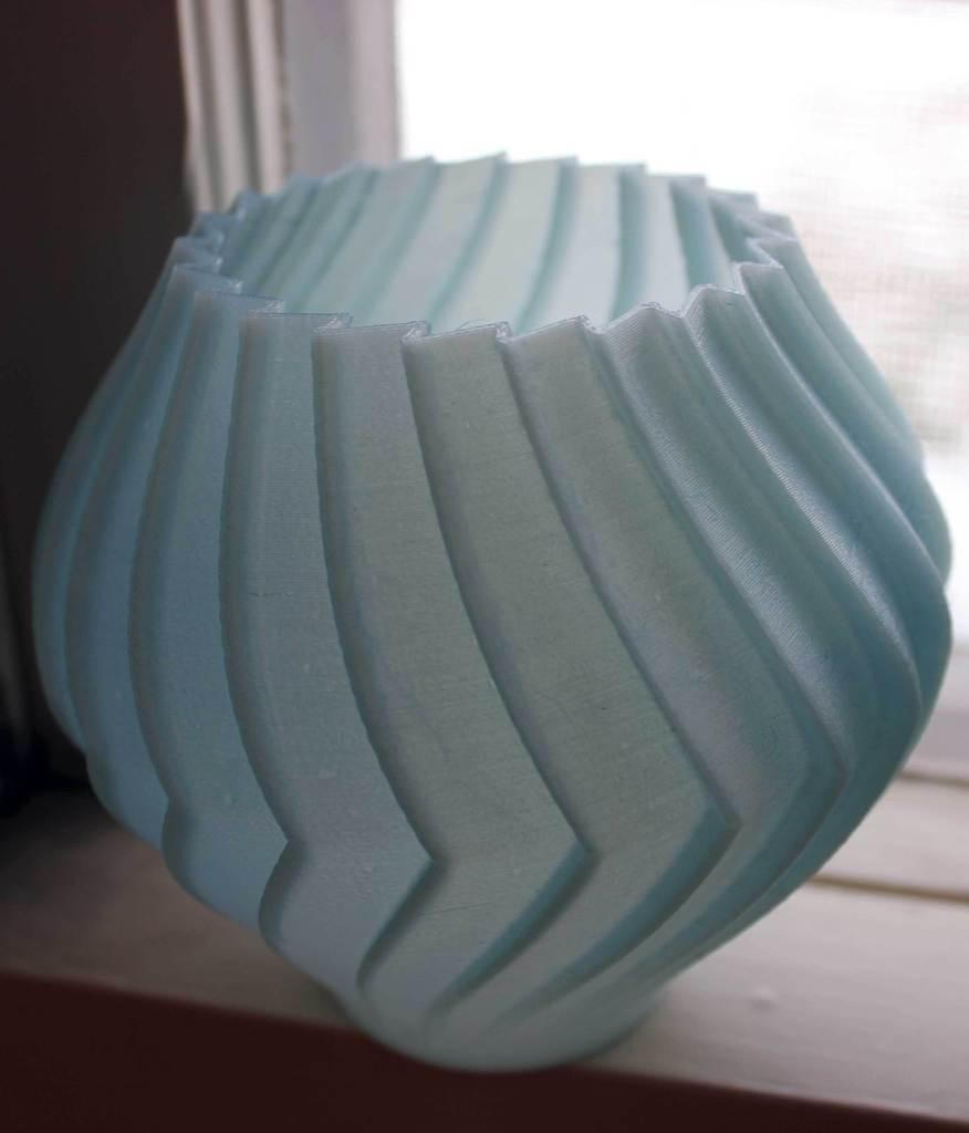 BuzzVase-MM_display_large.jpg Download free STL file Buzzsaw Vases • Model to 3D print, Revalia6D