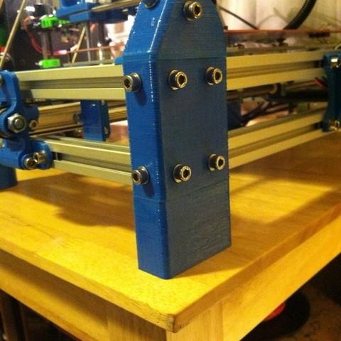 Télécharger modèle 3D gratuit Risers MendelMax, Revalia6D