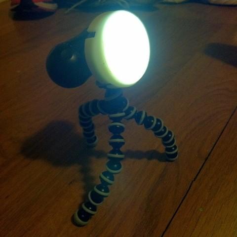 Télécharger fichier imprimante 3D gratuit Diffuseur pour Joby Gorillatorch, Revalia6D