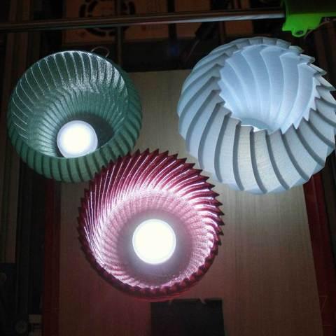 Buzzsaws-lit-above_display_large.jpg Download free STL file Buzzsaw Vases • Model to 3D print, Revalia6D