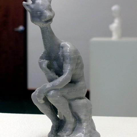 Download free 3D printer files What?  I'm a giraffe!, Revalia6D