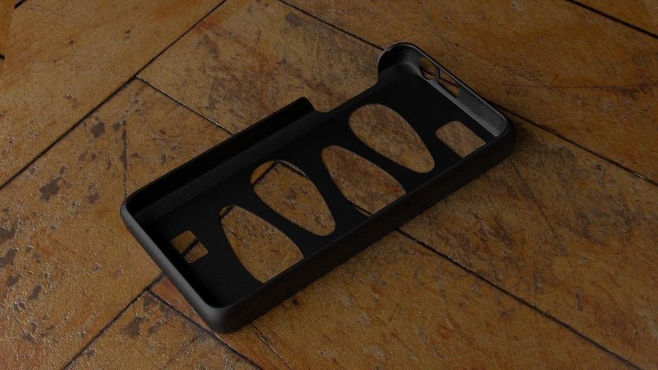 untitled_display_large.jpg Download free STL file Fairphone Case #1: Drop Cutout • 3D printable model, Numbmond