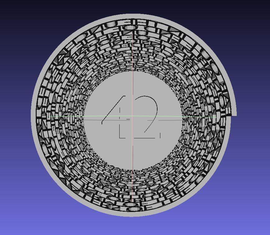 Screenshot02_display_large.JPG Télécharger fichier STL gratuit Tour de 42 • Plan pour imprimante 3D, Numbmond