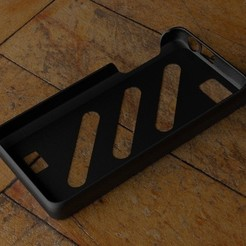 Download free 3D printing designs Fairphone Case #4: Stripes Cutout, Numbmond