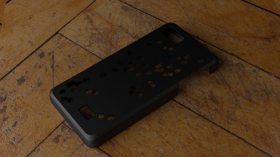 outside_display_large.jpg Télécharger fichier STL gratuit Cas Fairphone no 3 : Découpe de trous aléatoires • Objet à imprimer en 3D, Numbmond