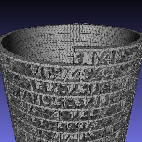Screenshot05_display_large.jpg Download free STL file Tower of Pi • 3D printer template, Numbmond