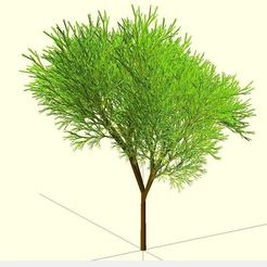 Free 3D printer files Truly recursive and random Tree (Not just pseudo recursive), Numbmond