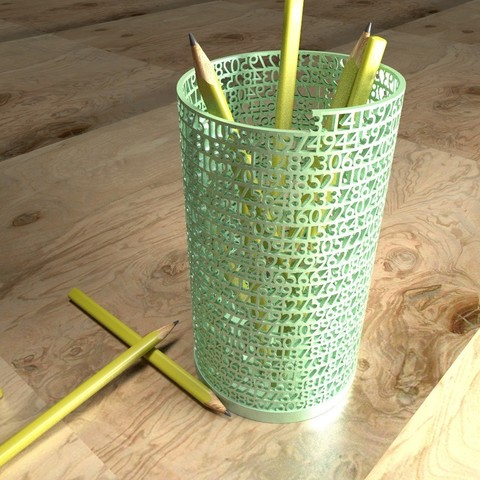 Download free 3D printer templates Tower of Pi, Numbmond