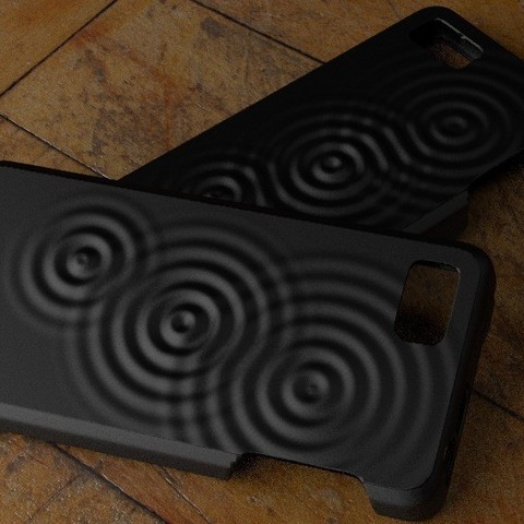 Download free 3D model Fairphone Case #6: Wave Pattern, Numbmond