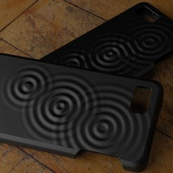 Free 3D printer files Fairphone Case #6: Wave Pattern, Numbmond