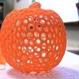 Pumpkin4_display_large_display_large.jpg Download free STL file Pumpkin - Voronoi Style • 3D printable object, Numbmond
