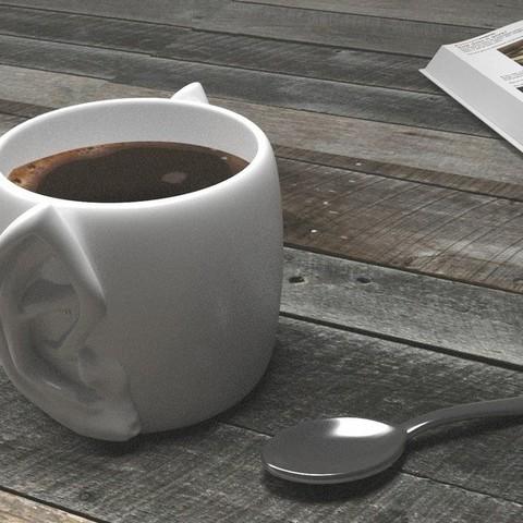 Free 3D printer model Ear Mug, Vulcan Edition, Numbmond
