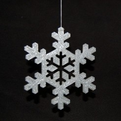 Free 3D printer model Shadowflake / Snowflake, Numbmond