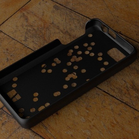 Download free 3D printing models Fairphone Case #3: Random Holes Cutout, Numbmond