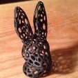 Download free STL file Bunny Head - Voronoi Style • Model to 3D print, Numbmond
