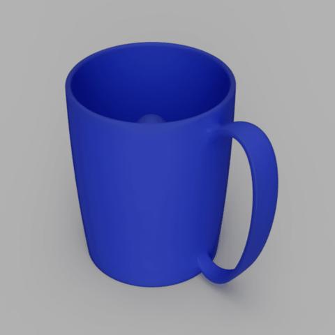 Imprimir en 3D gratis Taza Pitagórica, DoublecatDesign