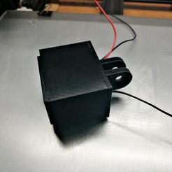 Télécharger fichier STL gratuit Boîtier pour thermomètre numérique 12V - Monture, iapetusQB