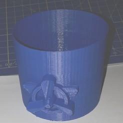 Download 3D printing models pot with paw patrol sky symbol, cristikc2