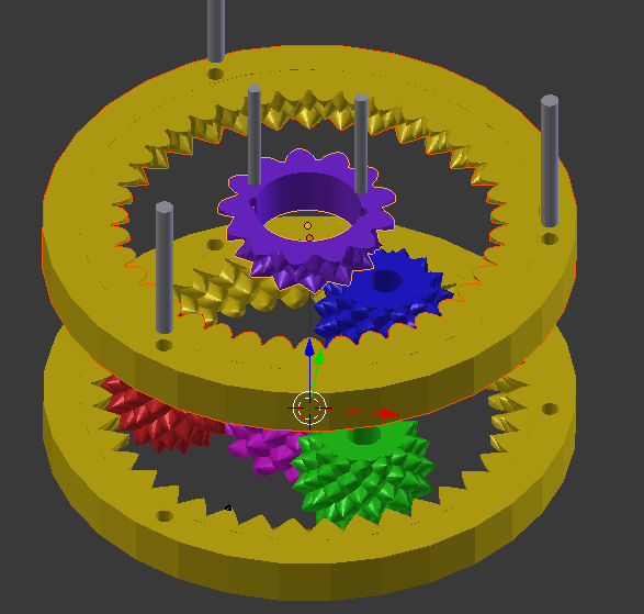 13x13 2Inch FractalPlanetary2.png Download free STL file Fractal Gear Bearing and Planetary • Object to 3D print, FractalGears