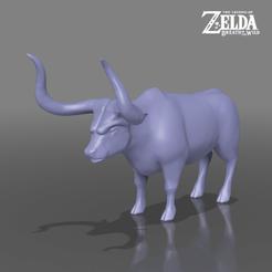 bull.png Télécharger fichier STL Taureau - La légende de Zelda - Le souffle de la nature • Objet pour impression 3D, 3DXperts