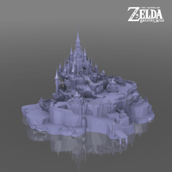 hyrulecastlegrounds.png Télécharger fichier STL Le parc du château d'Hyrule - La légende de Zelda - Le souffle de la nature • Plan pour impression 3D, 3DXperts