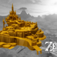 Download 3D printing files Hyrule Castle Grounds - The Legend of Zelda - Breath of the Wild, 3DXperts