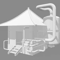 Modelos 3D Casa Steampunk, louisve6