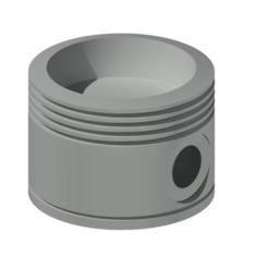 Download 3D printer designs PistonHead Ashtray, louisve6
