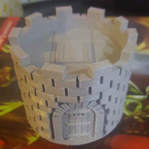 Download free 3D print files Guard Tower for D&D and RPGs, MaxLevel0