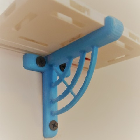 "Free 3D model Shelf Bracket for 2.5"" OpenLock tiles, MaxLevel0"