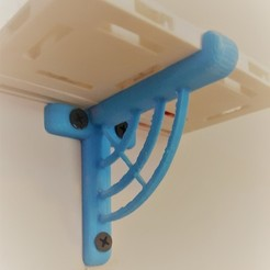 "Download free 3D printer model Shelf Bracket for 2.5"" OpenLock tiles, MaxLevel0"