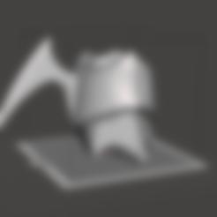 STL Aqua Kingdom Hearts 3 Anklet, TheTurtleBay