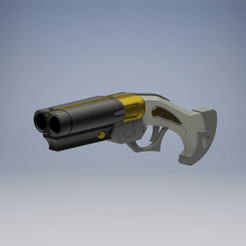 Download 3D printer files Overwatch Ashe Gangster SKIN Shirt Gun, TheTurtleBay