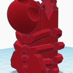 Télécharger objet 3D Skull Flash Hider, mg42_71