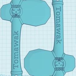 Tomawak.jpg Download free STL file Tomawak • Model to 3D print, BaD-TecH