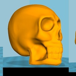 Download free STL file Skull, mg42_71