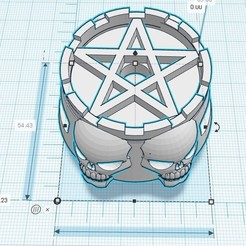 Sabbat cooki cutter 1.jpg Download free STL file Sabbat cookie cutter • 3D print template, BaD-TecH