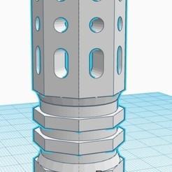 Télécharger objet 3D gratuit Muzzle C3, mg42_71